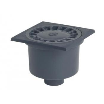 Siphon de cour à grande garde d'eau
