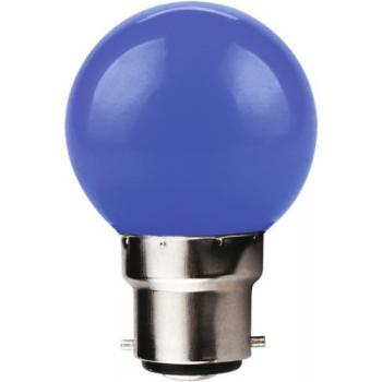 Lampe LED Sphérique B22 couleur