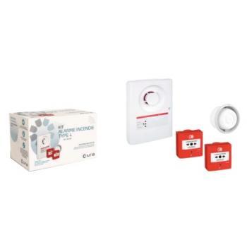 Tableau d'alarme incendie de type 4 alimentation secteur