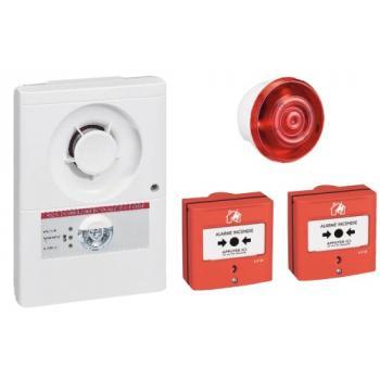 Tableau d'alarme incendie de type 4 CT + DL