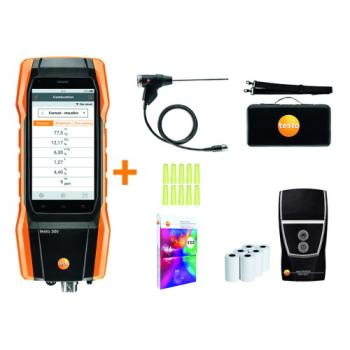 i-analyseur de combustion avec imprimante-Testo 300 Initial