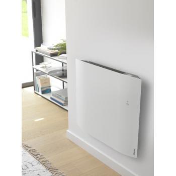 Radiateur électrique chaleur douce Divali horizontal connecté et lumineux