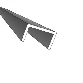 Profils U aluminium