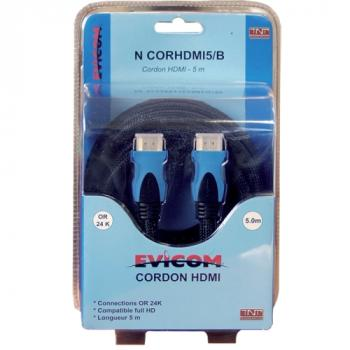 Cordon HDMI version 1.4 V