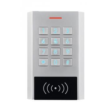 Clavier à code/badge à façade rétro éclairée type XK1 électronique intégrée