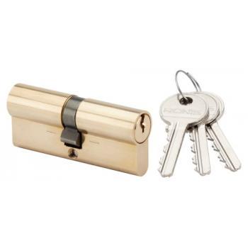 "Cylindre double ""La poste"" 1264 laiton poli 36 x 36 mm"