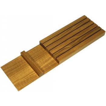 Bloc couteaux bois pour plateau multifonctions FineLine MosaiQ