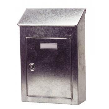 Boîte aux lettres d'extérieur Pavillon Tôle galvanisée