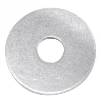 Rondelles plates LU et LLU acier zingué blanc en coffret ROËLAN
