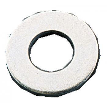 Rondelles plates ZU acier zingué blanc en coffret ROËLAN