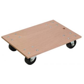Plateau roulant bois 300 kg