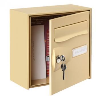 Boîte aux lettres d'extérieur demi-format Citadis - L 302 x H 292 x P 157 mm