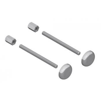 Fixations pour poignées modèles Aileron 6821 - montage simple pour porte standard
