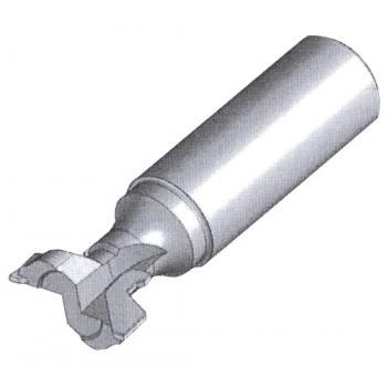 Fraise à plaquettes carbure pour profil trapèze