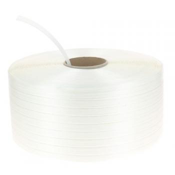 Feuillard textile manuel blanc