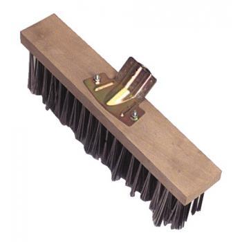 Balai métallique monture bois