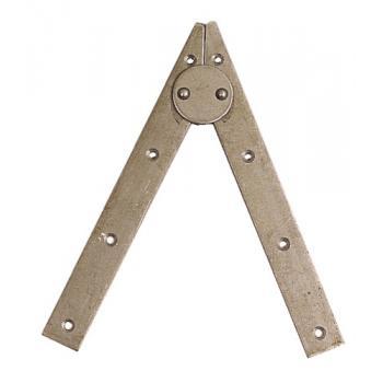 Compas d'échelle acier brut
