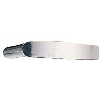 Béquille double à long col aluminium poli