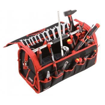 Composition 33 outils boîte textile