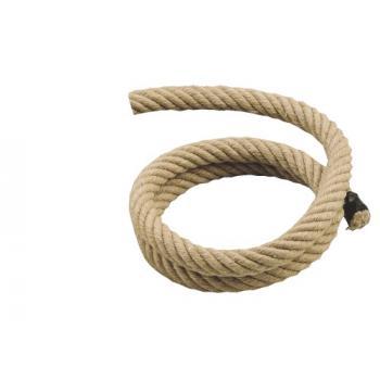 Cordes de rampe chanvre naturel diamètre 28 mm pour mains courantes
