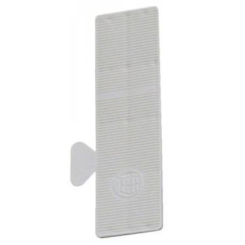 Cale en plastique de vitrage de longueur 80 mm Largeur 22 mm
