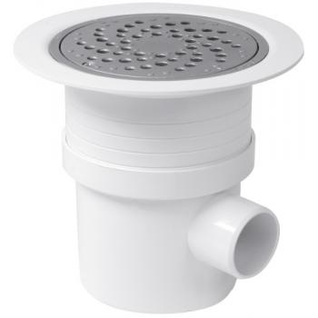 Siphon PVC pour sols plastiques Ø 192 mm DOCIA Système