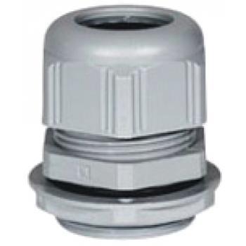 Presse-étoupe gris Filetage ISO