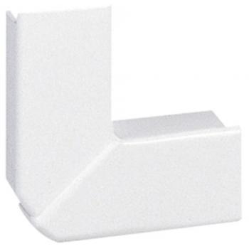 Angle plat blanc pour moulure DLPlus
