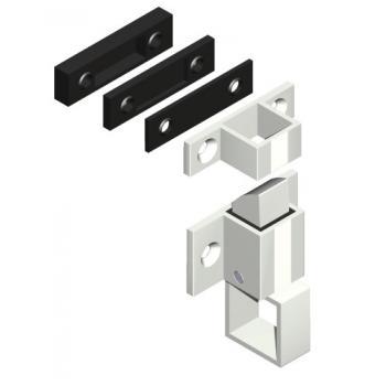 Loqueteaux pour chassis aluminium