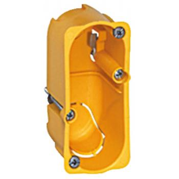 Boîte d'encastrement Batibox pour appareillage étroit en cloisons sèches