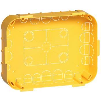 Boîte d'encastrement pour dérivation en cloisons sèches
