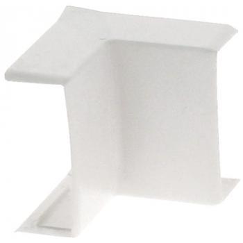 Angle intérieur/extérieur variable blanc pour moulures Kéva