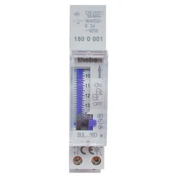 Interrupteur horaire programmable analogique avec réserve de marche SUL