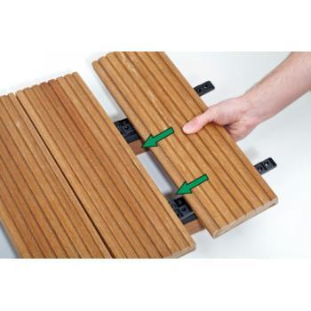 Coffret kit de fixation invisible pour terrasse Stick