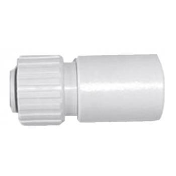 Raccord mâle à coller sur PVC pour tuyau flexible