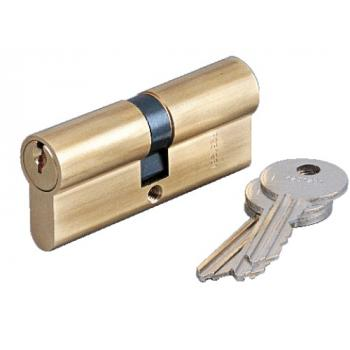 """Cylindre double """"La poste"""" - laiton poli - 1264 SP"""