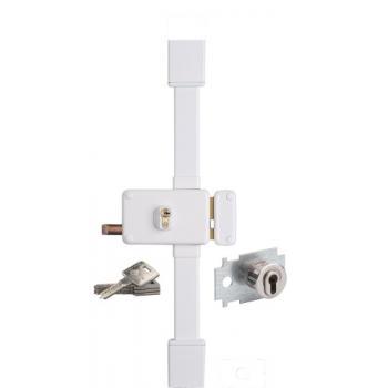 Serrures de haute sûreté en applique horizontales 3 points à cylindre européen A2P*- HORGA CP