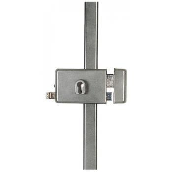Serrure en applique horizontale 3 points - A cylindre européen - Série 8800