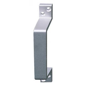 Poignées de tirage déportées aluminium profilées pour porte battante