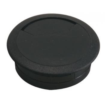 Passe-câbles plastique ronds diamètre perçage 60 et 80