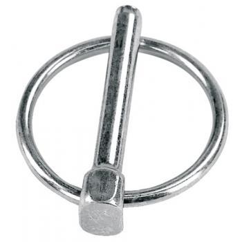 Goupilles clips acier zingué blanc