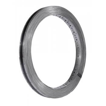 Feuillard perforé acier épaisseur 1,5 mm
