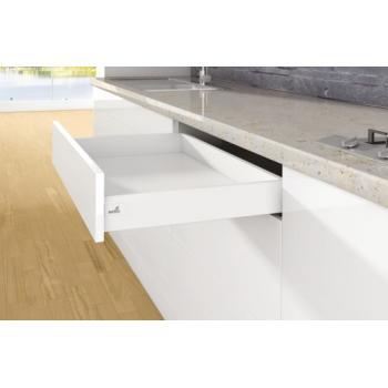 Kit tiroir simple - hauteur 94 mm - blanc