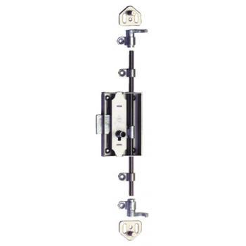 Serrures 3 points S45 - 12.383 - pour clés 12.190 ou 12.385 avec tige de 30 ou 40 mm