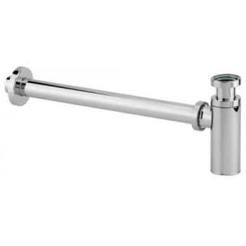 """Siphon lavabo ABS chromé """"Cylindrix"""""""