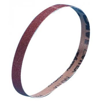 Abrasifs en bandes étroites 10 x 330 mm et 13 x 454 mm toile corindon KK 711 X