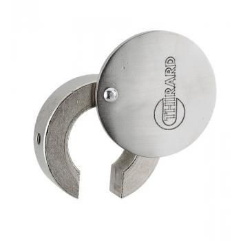 Obturateur de cylindre à profil européen en laiton finition chromé