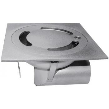 Siphon de sol à cloche Netdrain Standard en acier inoxydable