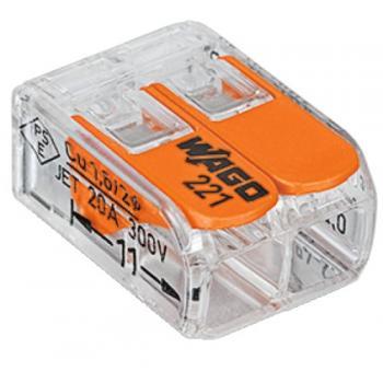 Mini borne d'installation universelle pour fils souples et rigides type 221