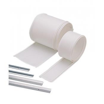 Joints anti pince-doigts bandes PVC pour portes simples action